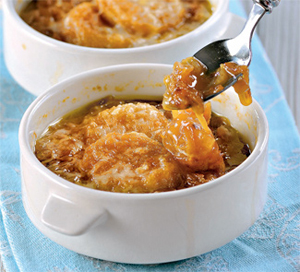Рецепт лукового супа на шестерых