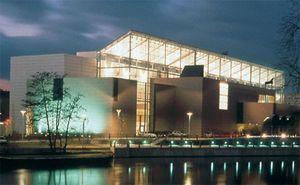Музей современного искусства и искусства в стиле модерн