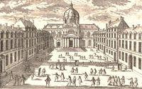Знаменитый университет Сорбонна в Париже