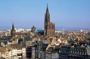 Страсбург вид города