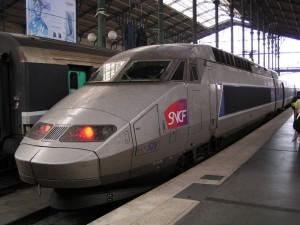На электричке до Парижа