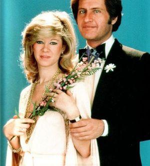 Фотография Джо Дассена и его второй жены Кристин Дельво
