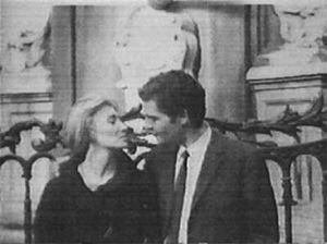 Фотография Джо Дассена и его жены Мариз Массьера