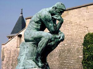 """Огюст Роден - """"статуя"""