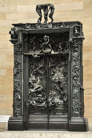 "Огюст Роден - ""Врата ада"""