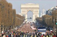 Париж в апреле