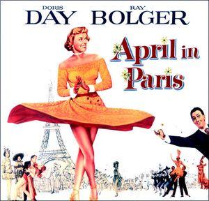 Погода в апреле - Париж