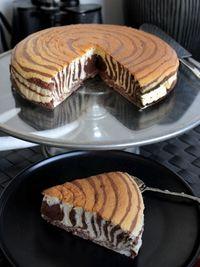 Рецепты французской кухни - торт зебра