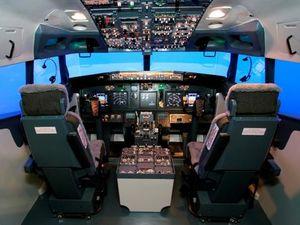 Симулятор полетов Boeing 737-800
