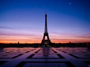 Ноябрьская погода в Париже