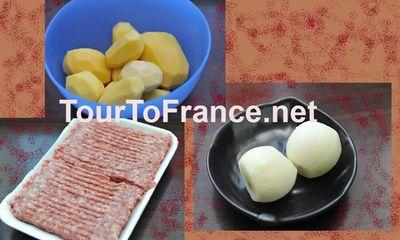 Мясо по французски - ингредиенты - фото 1