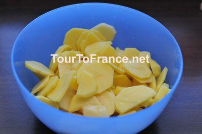 Картофель нарезанный платами - фото 6